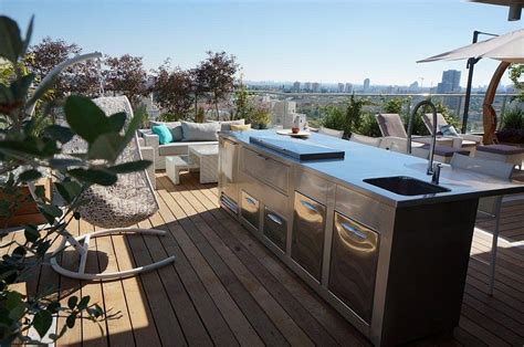 neutral home interior colors renovated penthouse with lavish balcony space
