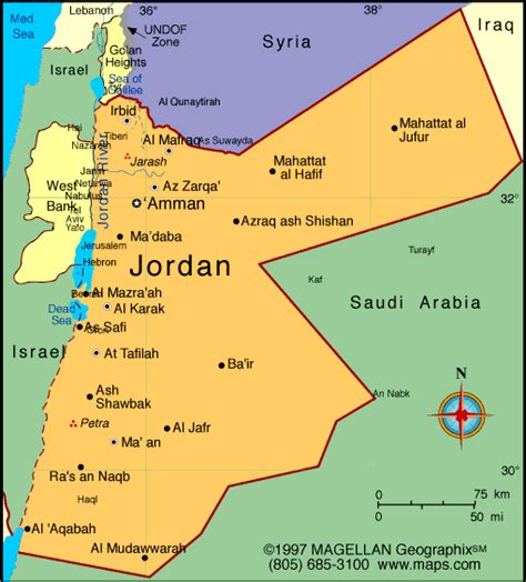map  jordan  printable maps