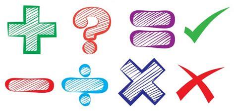 Simbolos Matematica Baixe Vetores Fotos e arquivos PSD