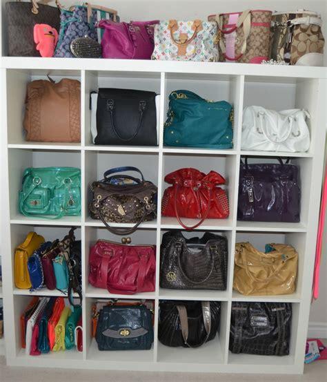 bust of handbag storage ideas storage ideas