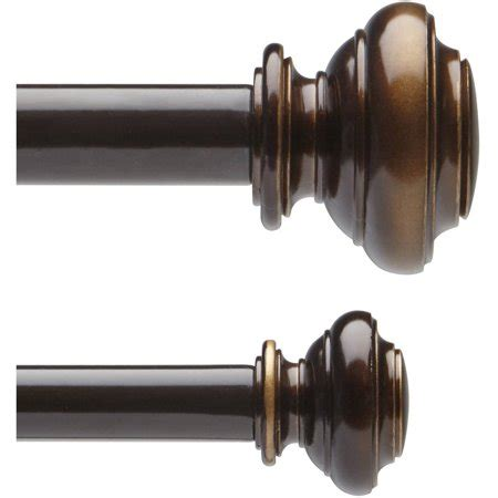 Better Homes And Gardens Curtain Rods by Better Homes And Gardens 5 8 Quot Curtain Rod Set
