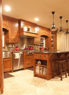 adding cabinets to kitchen orange kitchens with cherry cabinets and stainless steel 3989