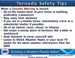 Tornado Warning Safety Tips  Mowx  Joplin  Tornado  Ozarks