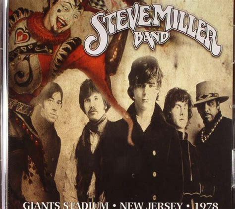 STEVE MILLER BAND Live Giants Stadium, New Jersey 1978 CD ...