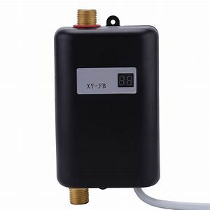 220v 3400w Tankless Instant Electric Hot Water Heater Bathroom Water Shower Lj