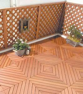 Boden Für Terrasse : holzfliesen auf dem balkon der richtige bodenbelag f r drau en ~ Orissabook.com Haus und Dekorationen