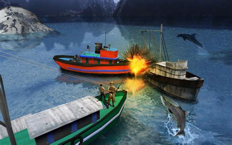 Boat Fishing Games Android fishing boat driving simulator ship games android apps