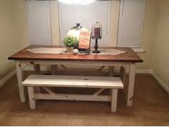 Farm Style Kitchen Chairs by Rustic Nail Farm Style Kitchen Table And Benches To Match