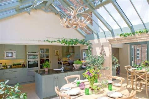 A Kitchendiner Conservatory Extension On A Listed