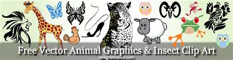 downloads vector animal graphics insect clip art