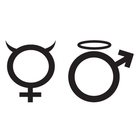 stickers pour bureau stickers symbole homme femme stickers malin
