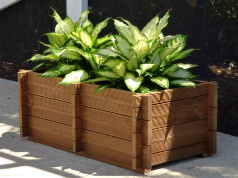how to make a wooden planter box how to make wooden planter boxes waterproof wilson