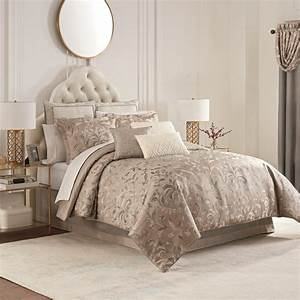 Andria, Taupe, By, Waterford, Luxury, Bedding