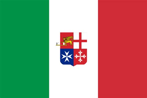 italy flag 1 italian italia file civil ensign of italy svg familypedia fandom ital