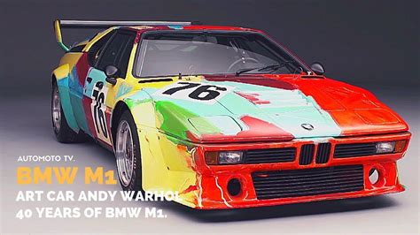 Bmw Art Car Andy Warhol.