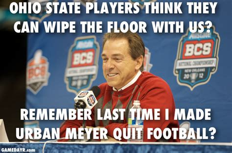 Ohio State Sucks Meme - ohio state alabama meme