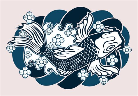 japanese tattoo design   vectors clipart