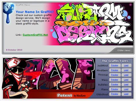 Graffiti Editor Online :  The Graffiti Creator