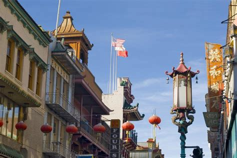stock photo  sanfrancisco china town photoeverywhere