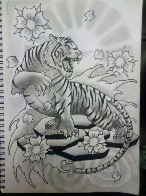 traditional japanese tiger tattoo designs tiger  tattoo
