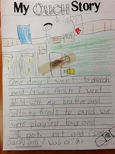 Narrative Essay Examples My Ouch Story Fun In 1st Grade