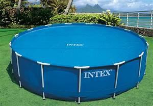 Easy Set Pool : intex 15 foot round easy set vinyl solar cover for swimming pools blue 29023e 703457319168 ebay ~ Orissabook.com Haus und Dekorationen