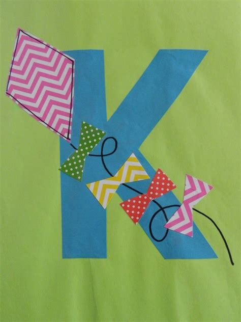 letter k crafts the vintage umbrella preschool alphabet projects 79023