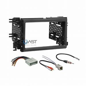 Car Radio Stereo 2 Din Dash Kit Amp Harness For 2004