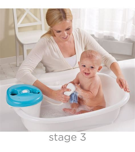 Baby Tub With Shower by Summer Infant Newborn To Toddler Bath Center Shower