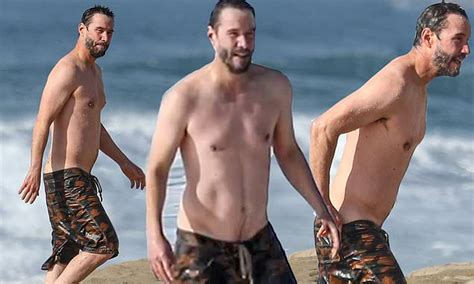 Keanu Reeves Shows Off His Trim Physique At 56 Daily
