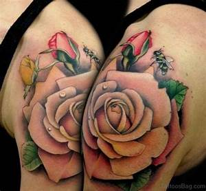 78 Contemporary Rose Shoulder Tattoos