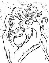 Coloring Pages Simba Printable sketch template