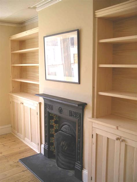 Custom Built Cupboards by Alcove Cupboards In Pine By Henderson Furniture