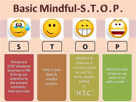 mindfulness mindful easy stop tips thoughts helpful tools meditation counselling mindfullness anxiety gym techniques breathing anywhere anyone connect any fresh