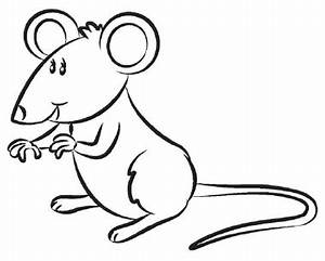 Mouse clipart drawn - Pencil and in color mouse clipart drawn