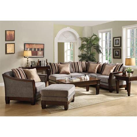 trenton sectional living room set grey velvet