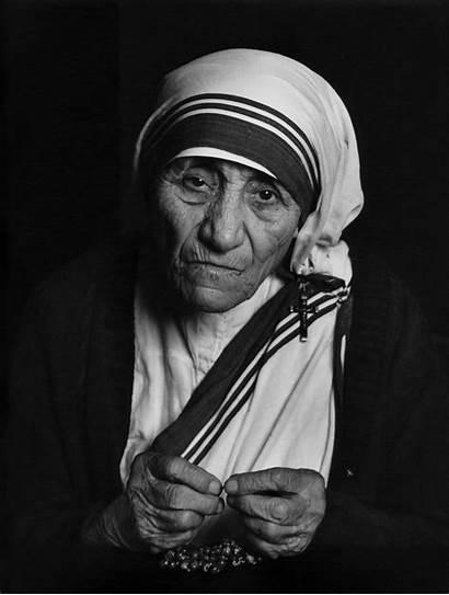 Teresa Mother Karsh Yousuf