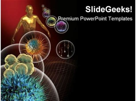 stem cells medical powerpoint template  powerpoint templates   background