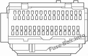 Fuse Box Diagram Lexus Es350  Xv40  Gsv40  2006