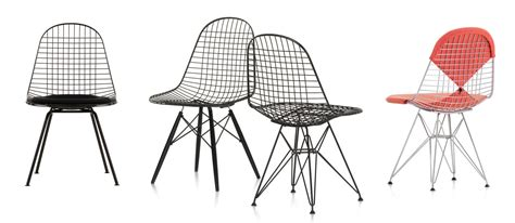 office cushion vitra wire chair