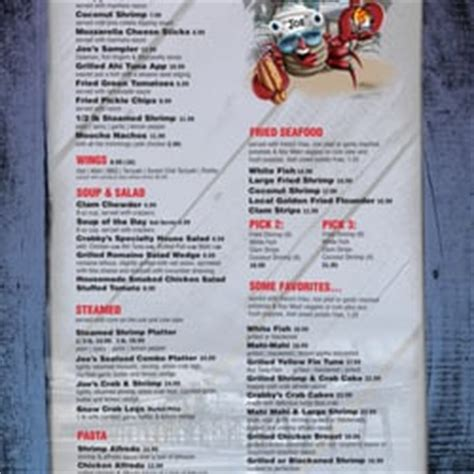 Deck Daytona Fl Menu by Crabby Joe S Deck Grill 213 Photos Seafood Daytona