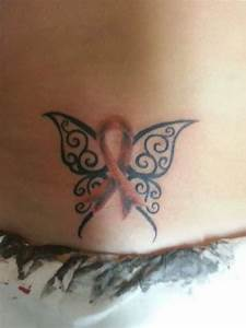 Self harm awarness ribbon butterfly! | Tattoo ideas ...