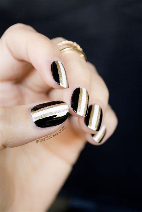 black  gold  years nails  version