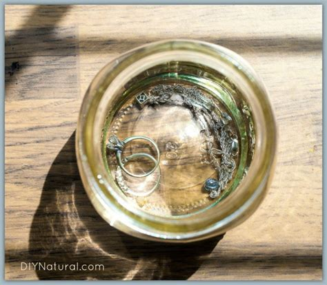 diy jewelry cleaners home remedies
