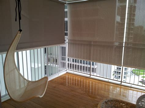 Blinds For Bedroom Singapore by Balcony Curtains Balcony Balcony Blinds Curtains