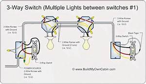 3 Way Switch Multi Light Wiring Diragram 110volt In 2019