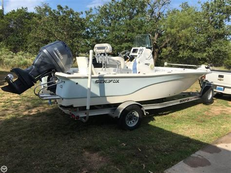Used Sea Fox Boats In Texas by 2013 Used Sea Fox 200 Viper Bay Boat For Sale 29 999