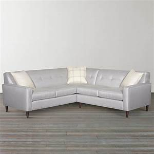 skylar l shaped sectional by bassett furniture sectional With sectional sofas by bassett