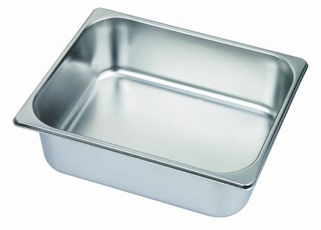 minox 1 2 100 half size gastronorm pan pans trays