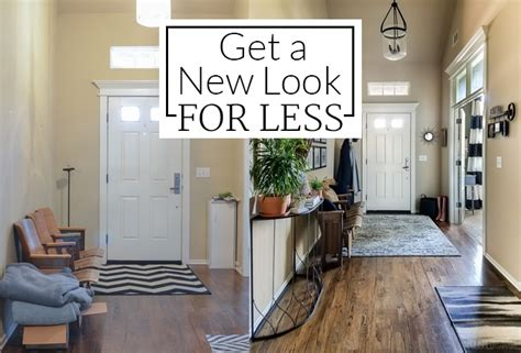How I Got A High-end Look For Less {entryway Before